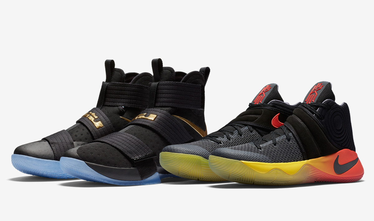 "Nike Basketball Pays Tribute to LeBron & Kyrie With the ""Four Wins"" Pack"