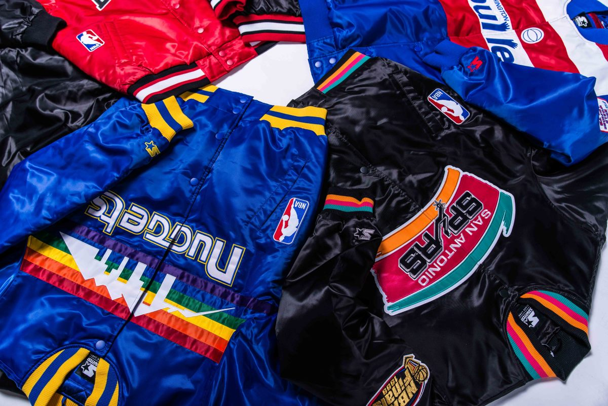 DTLR Teams Up With Starter on a Throwback NBA Jacket Collection
