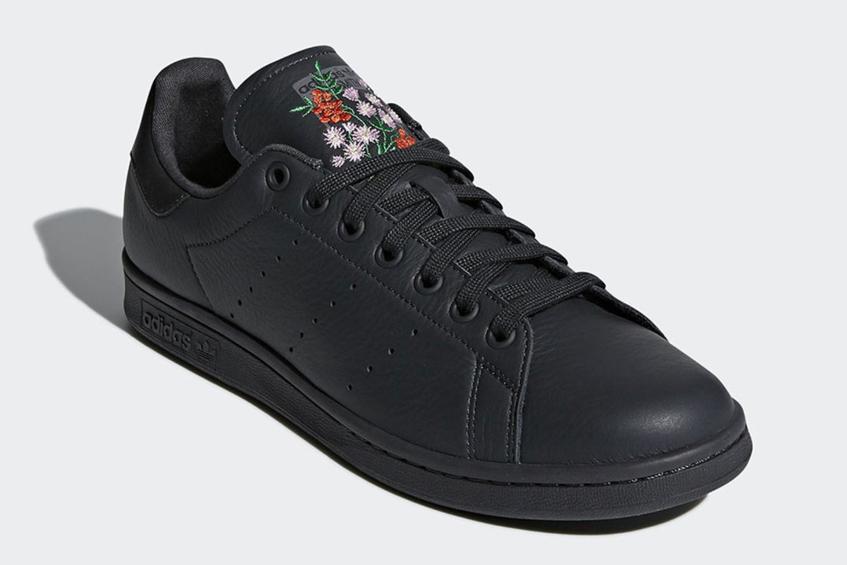 Stan Smith With Floral Embroidery
