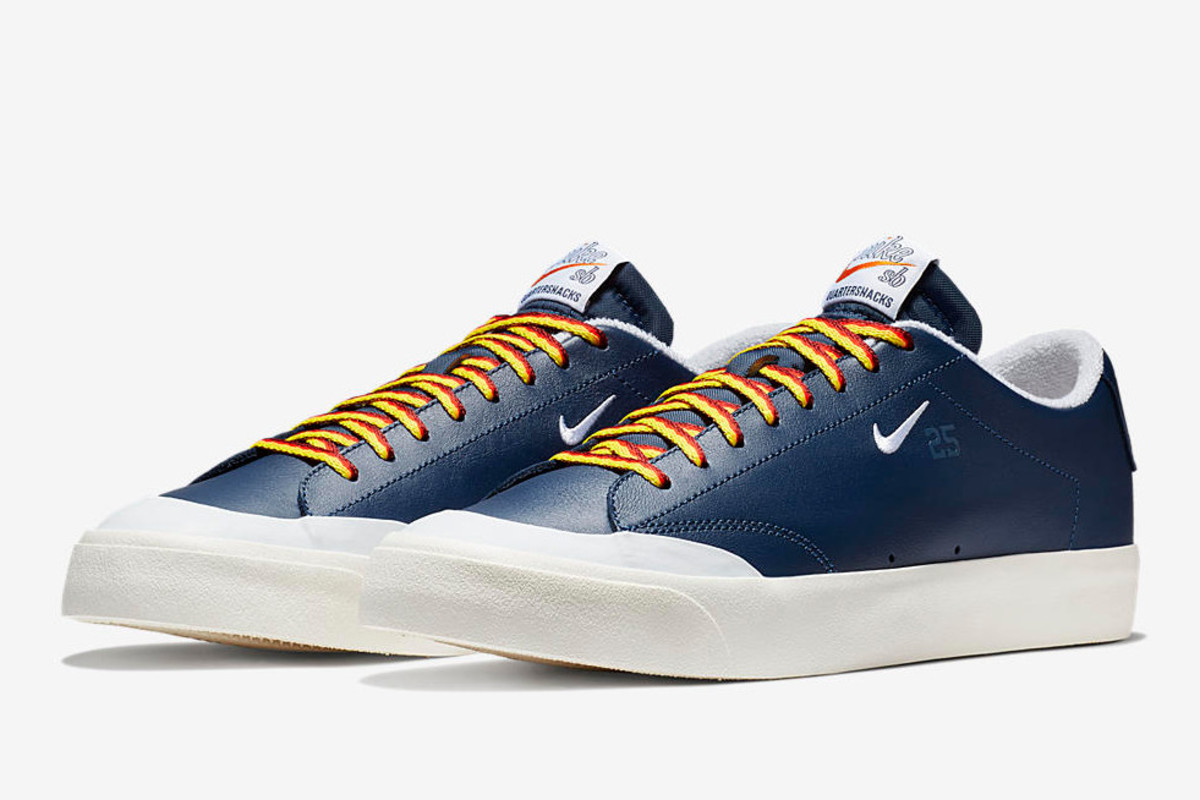 online store b1d91 e3e12 The Quartersnacks x Nike SB Zoom Blazer Low Drops This Weeke