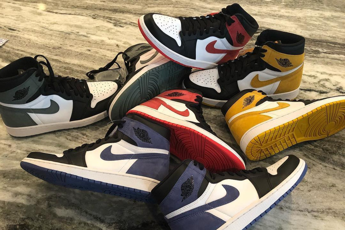 These Are the Four Air Jordan 1 Colorways Dropping in May ...