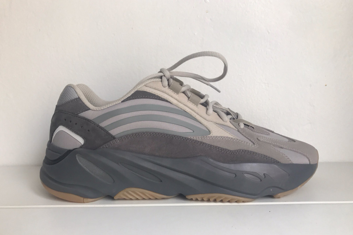 meet bbdae 69f56 Kanye West Reveals the YEEZY 700 V2 in a Grey Colorway ...