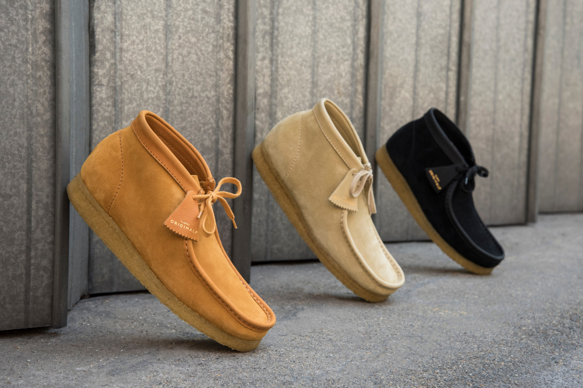 54c6bcb0676 Clarks Originals Debuts a Limited Wallabee Collection Made in Italy ...