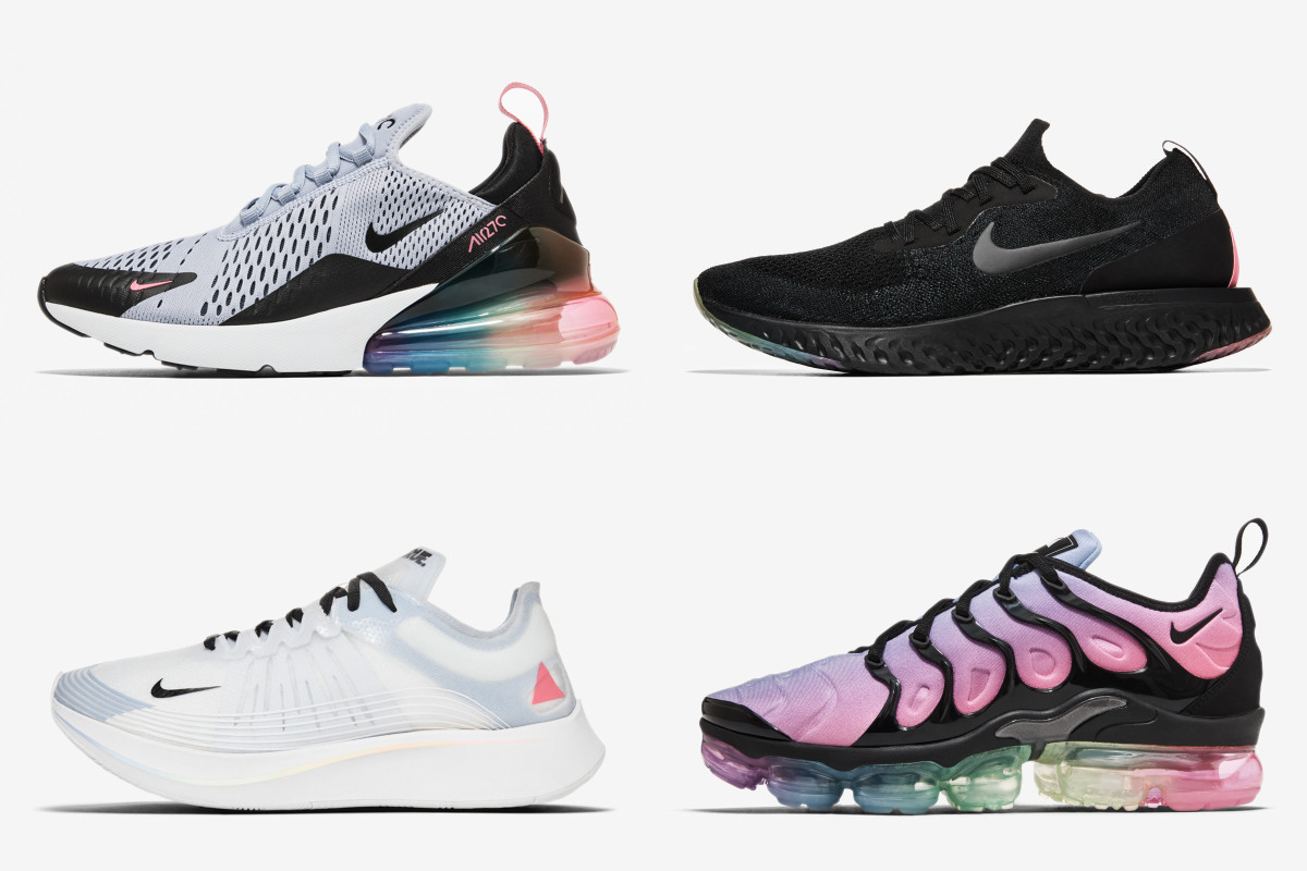 best service 5a414 505c1 Nike's 2018 BETRUE Collection Highlights Symbols & Colors ...