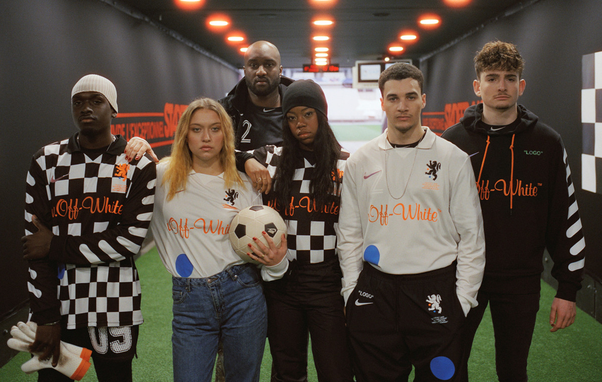e6e0eeed Nike Debuts New Soccer Themed Collections From Virgil Abloh and Kim ...