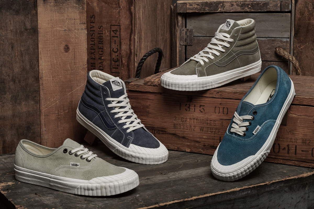 Vans Gives the Sk8-Hi Reissue 138 and Authentic 138 a Vintage ...
