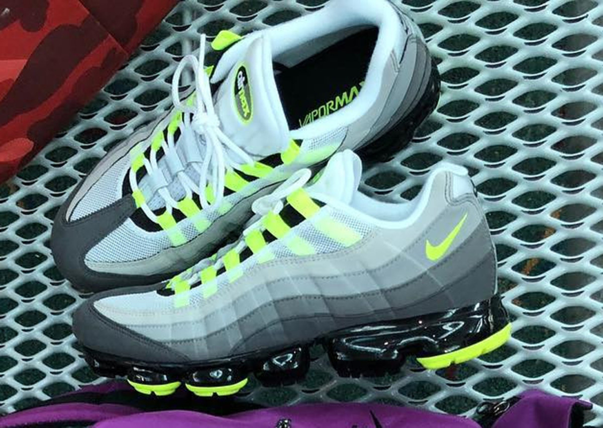The Nike Air Max 95 Neon Gets A Vapormax Update Freshness Mag