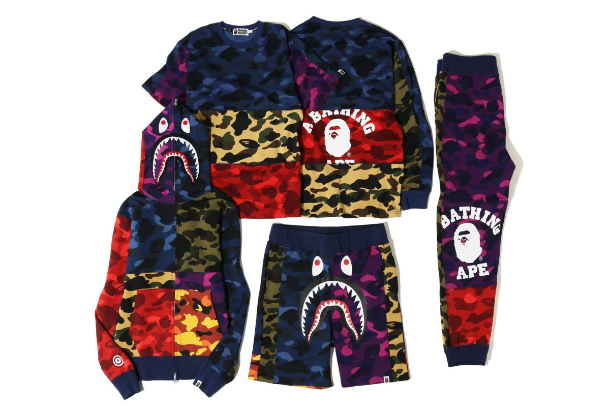 947504e3e9 BAPE Is Releasing a New Apparel Capsule Bursting With Multi-Color ...