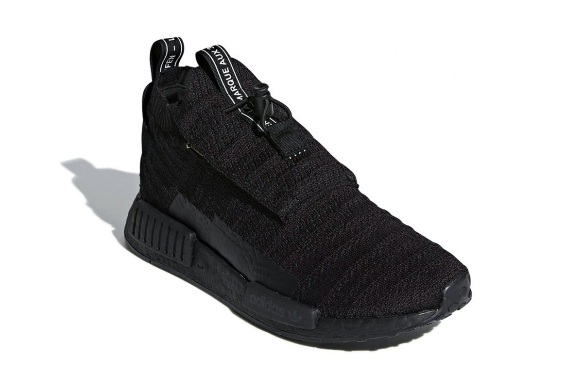 adidas Dresses the NMD TS1 Gore-Tex in Triple Black - Freshness Mag 6d653a70c