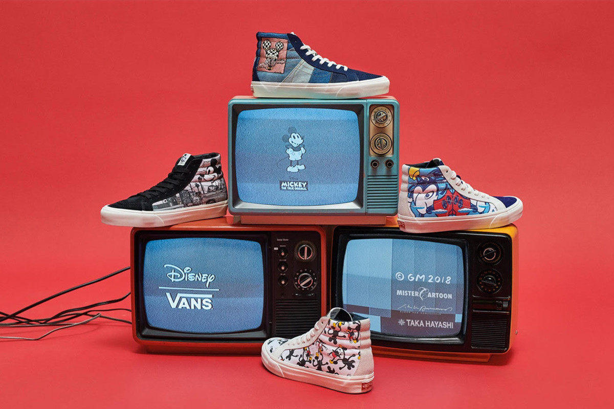 62ecaabe6d Vans and Disney Celebrate 90 Years of Mickey Mouse - Freshness Mag