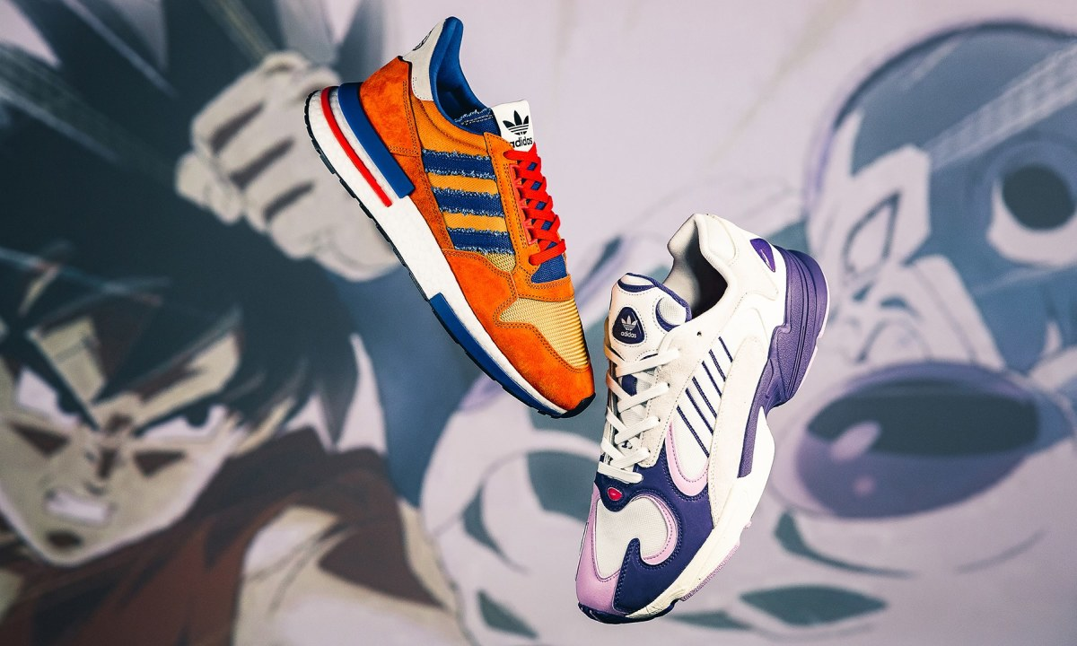 new concept c6314 ec499 The First Sneakers From adidas' Dragon Ball Z Collection Are ...
