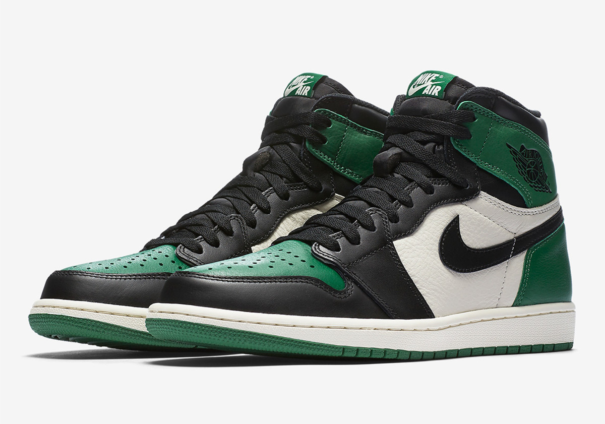 quality design 2ea74 18c44 The Air Jordan 1 Drops Next Week in Pine Green and Court Purple ...