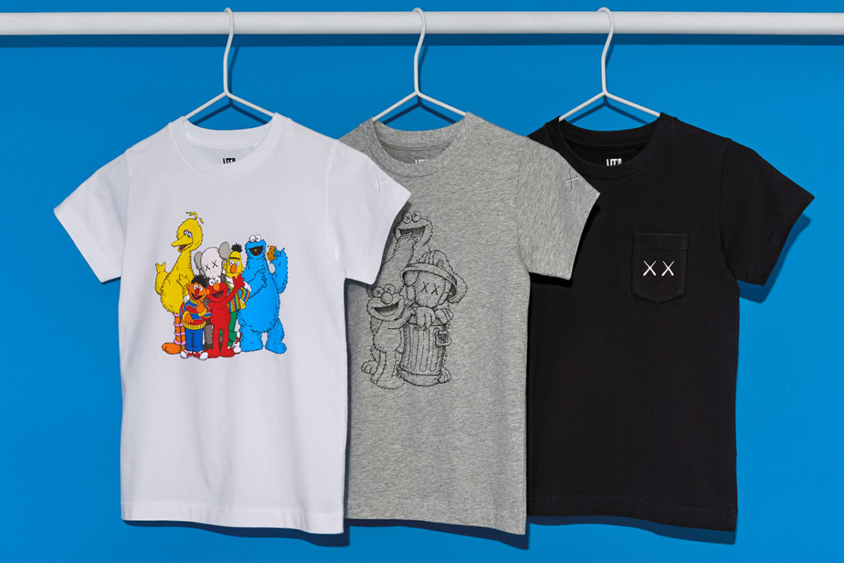 4a45097cd KAWS and UNIQLO Join Forces on a New Sesame Street Collection ...
