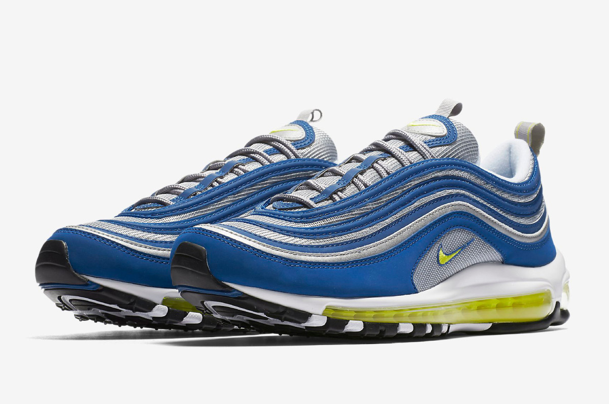nike dropped this og colorway of the air max 97 with no. Black Bedroom Furniture Sets. Home Design Ideas