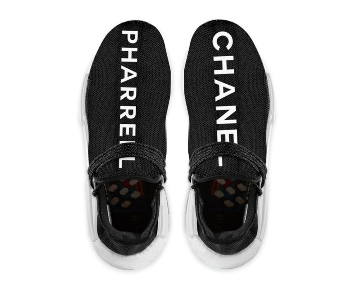 quality design fe0fc 417a5 Is There a Chanel x Pharrell Williams x adidas NMD ...
