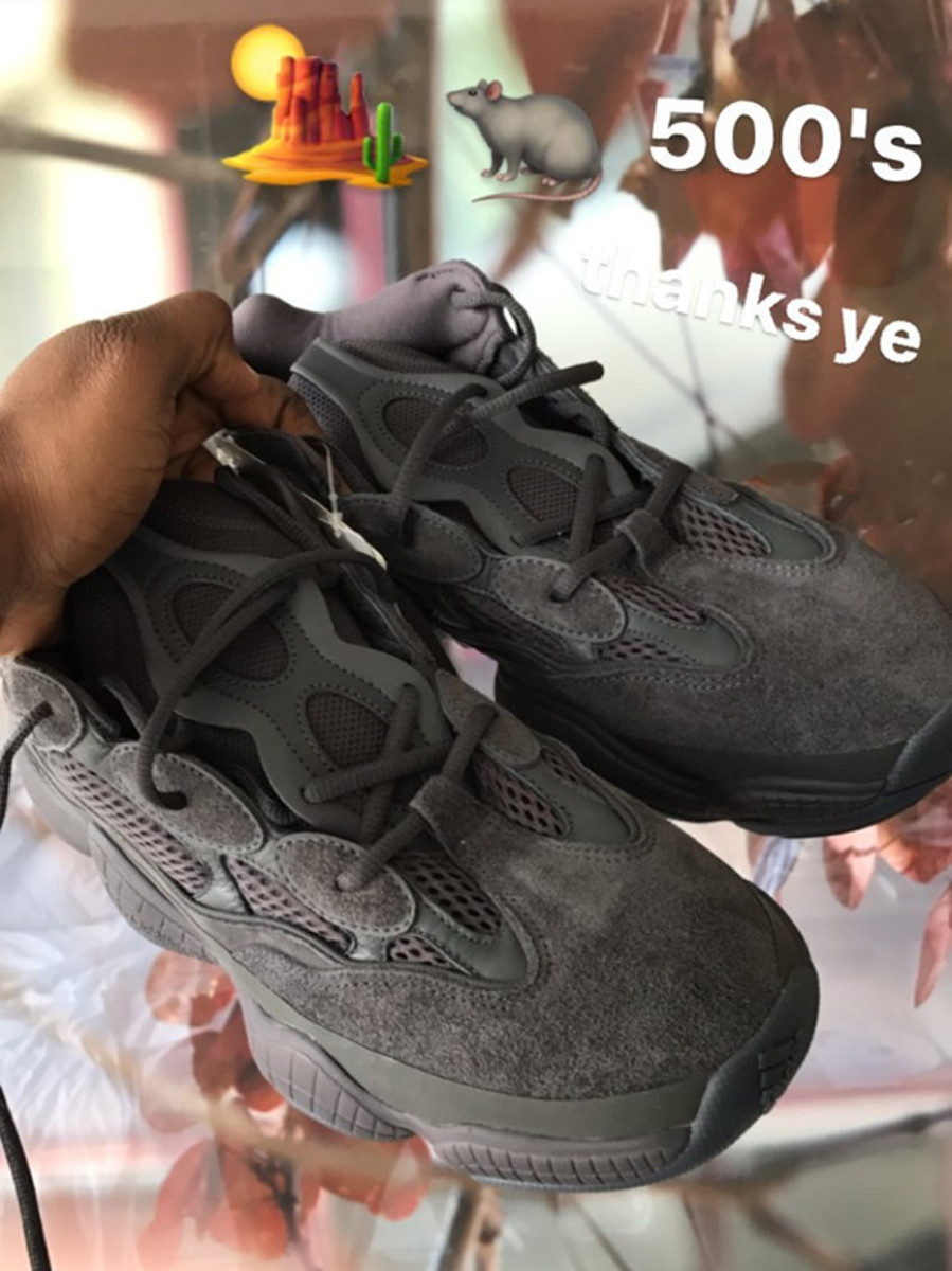 premium selection 31e50 33064 A First Look at the Upcoming adidas YEEZY 500 Runner in Dark ...