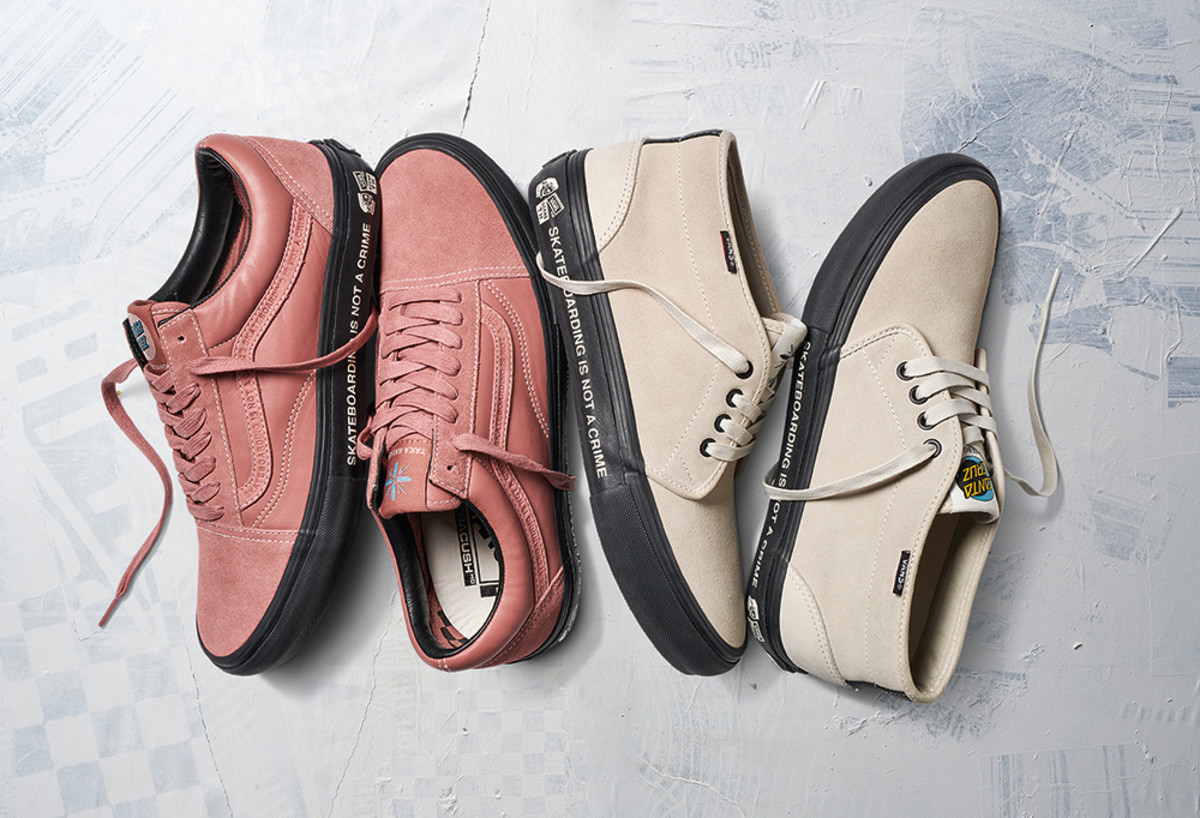 fd7bed35d5 Vans and Santa Cruz Debut a Footwear Collaboration Designed by Taka ...
