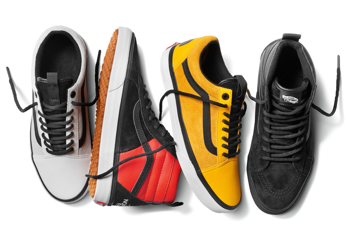 Vans x The North Face 2017 Collection