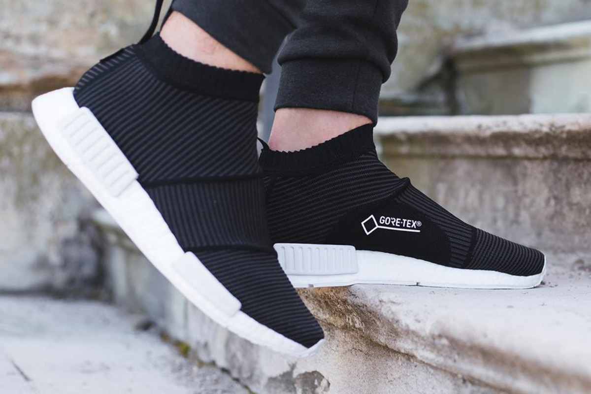 adidas Originals NMD Cs1 Gore-Tex Trainers In White buy cheap find great discount top quality Y6n4dqG4d