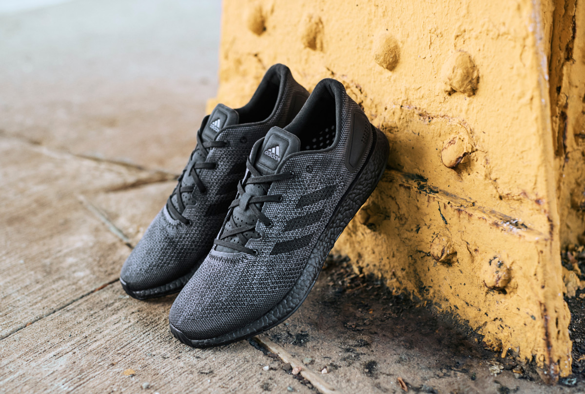 adidas Debuts the PureBOOST DPR in Triple Black - Freshness Mag bc2dc71a9