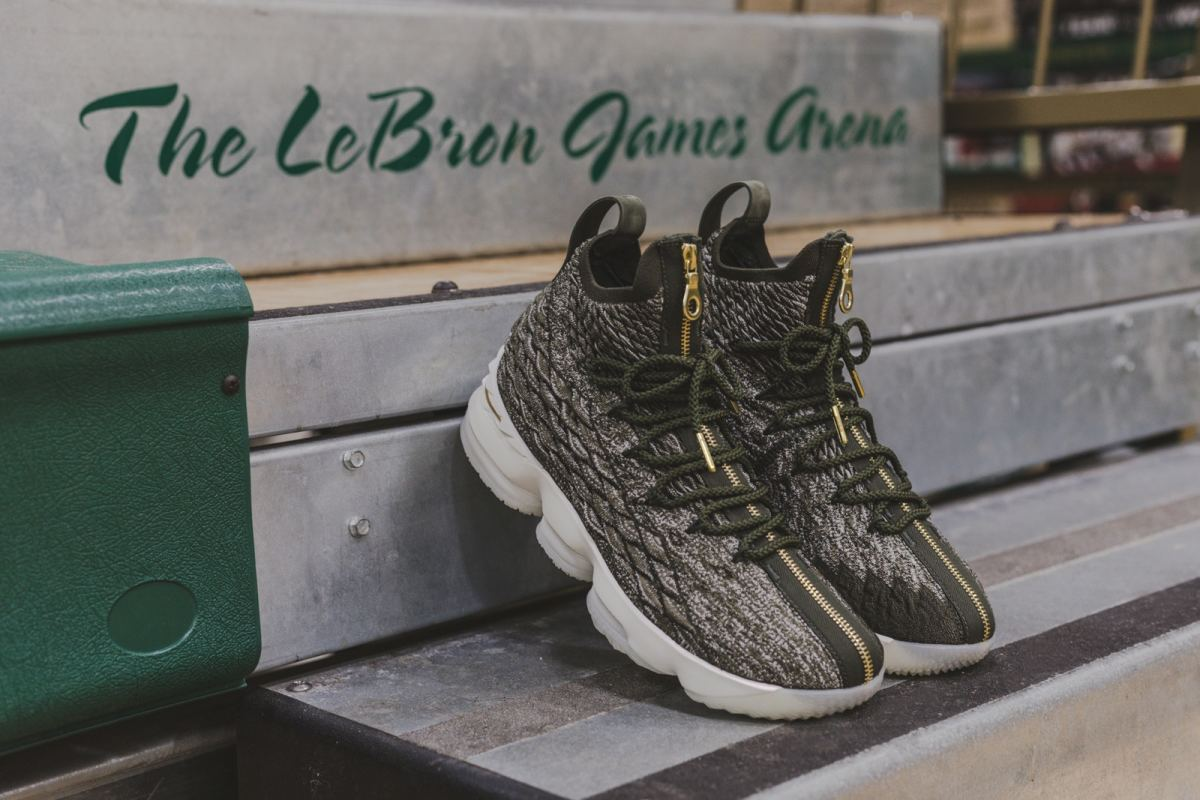 super popular 75ee7 685fd LeBron James' High School Is Gifted With the Kith x Nike ...