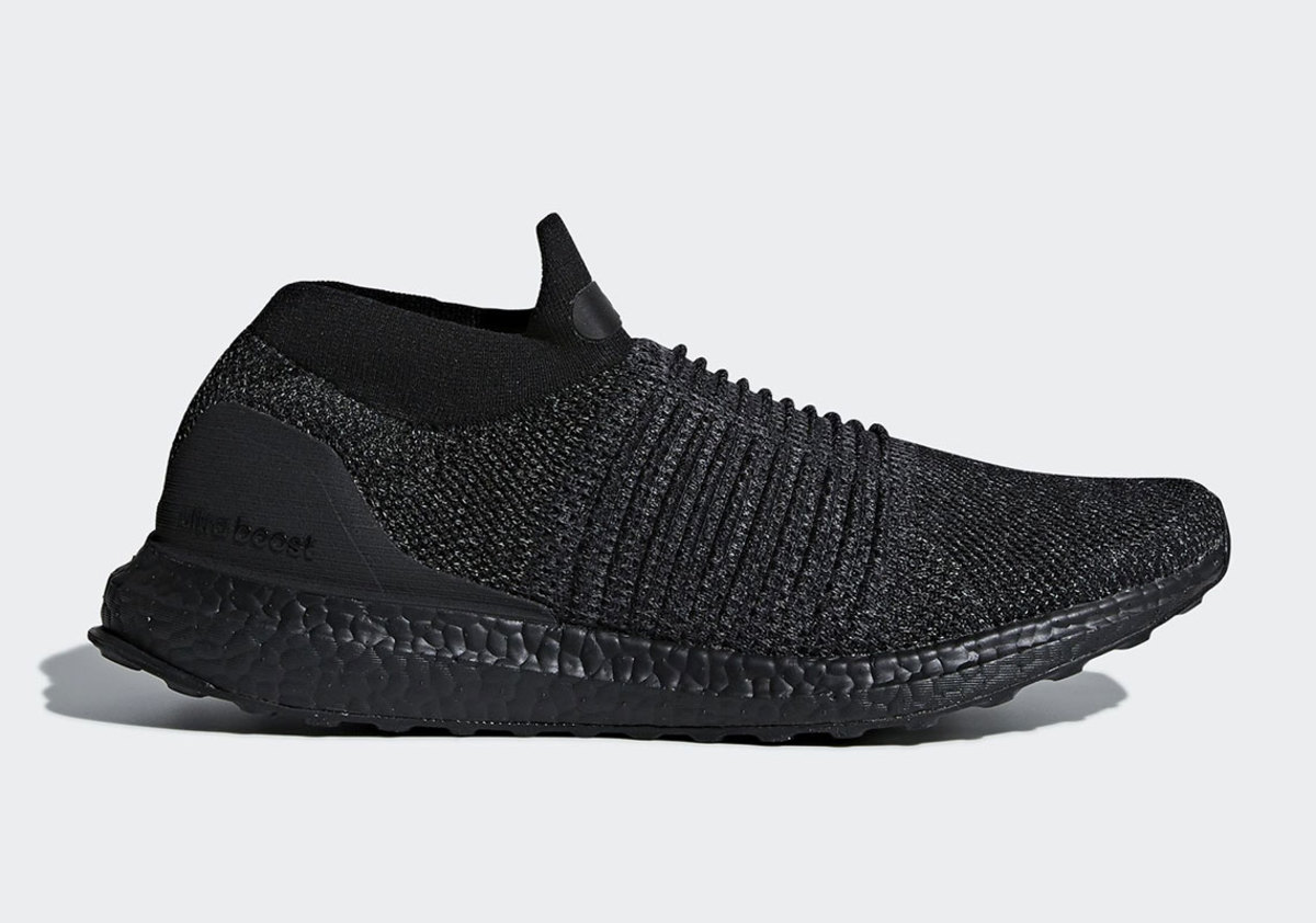 50c682951 adidas Is Dropping the UltraBOOST Laceless in a Triple Black ...