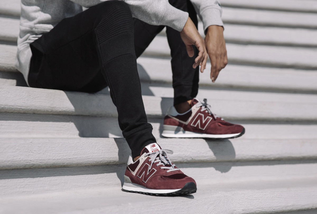 online store 98a04 2f744 New Balance Revamps the Classic 574 Silhouette for 2018 ...