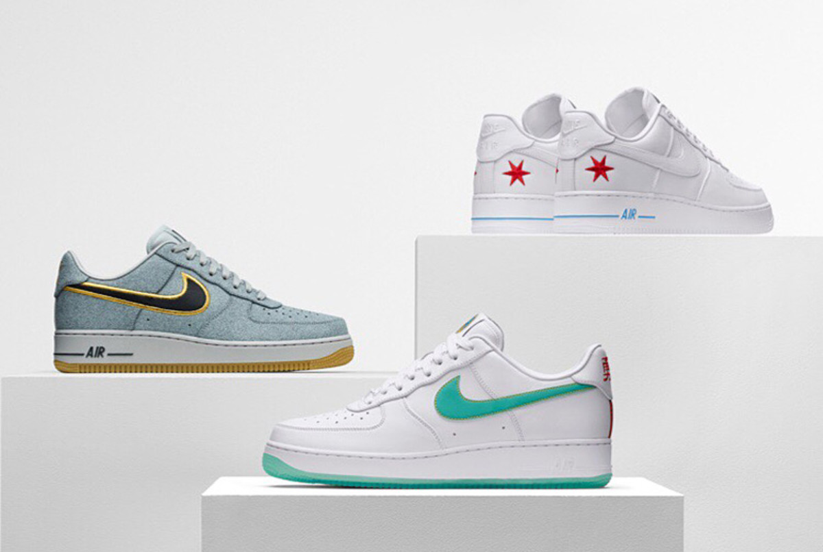 official photos ca364 48c89 ... Nike Air Force 1 NBA ...