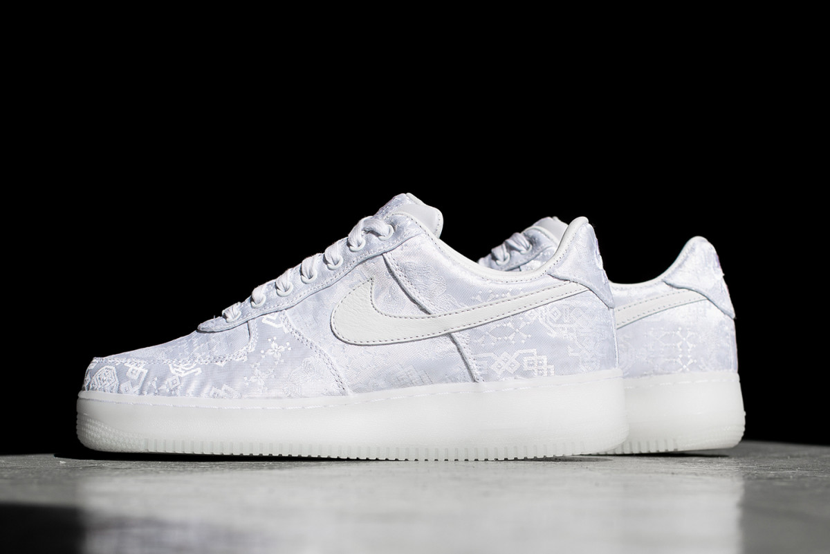 0a626d0e7fa The CLOT x NikeLab Air Force 1 Has a Tear-Away Upper Layer ...