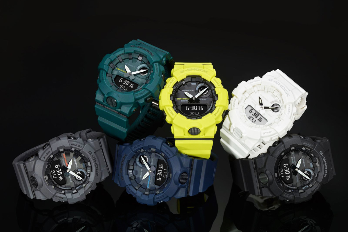 96dbe2c843e7 G-Shock s New G-SQUAD GBA-800 Features a Step Tracker and Bluetooth ...