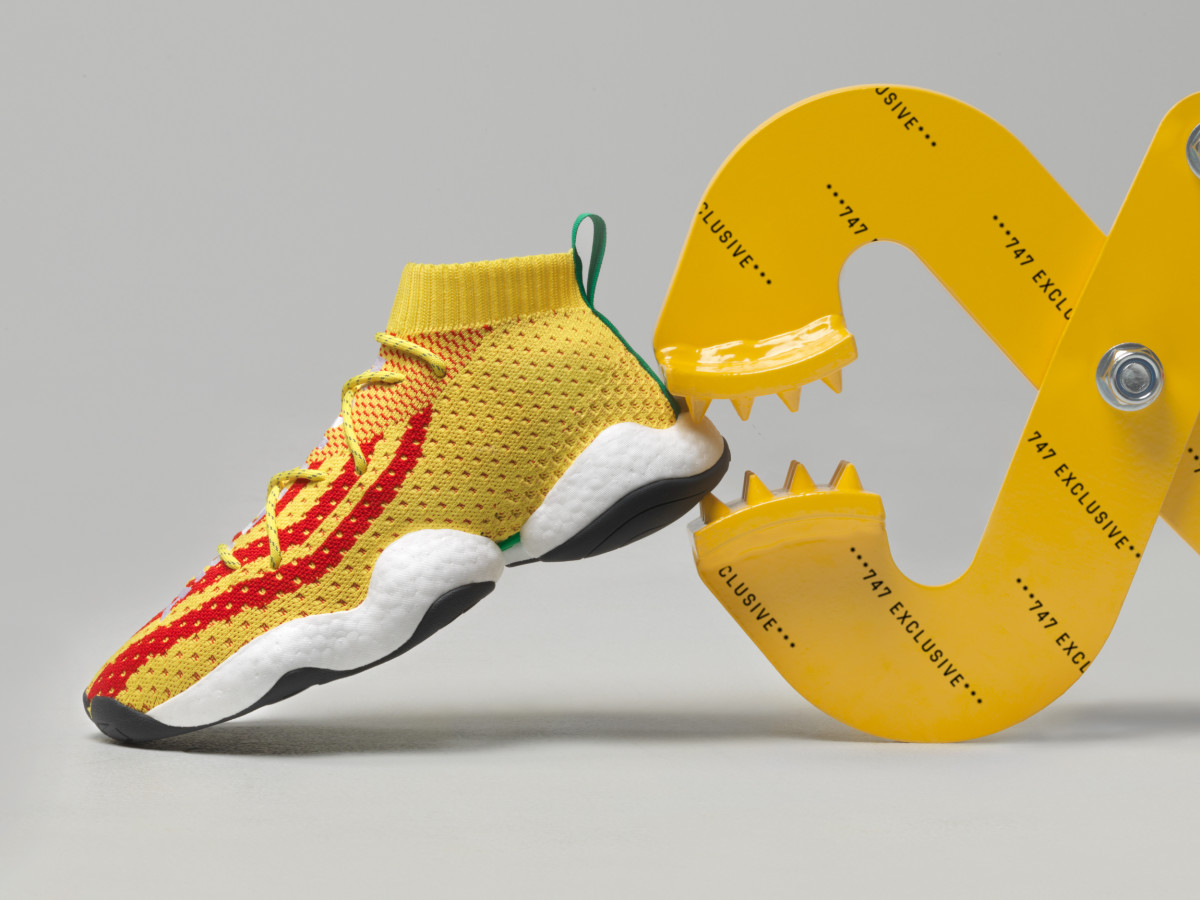premium selection 59978 b0f66 Pharrell and adidas Debut the Crazy BYW PW - Freshness Mag