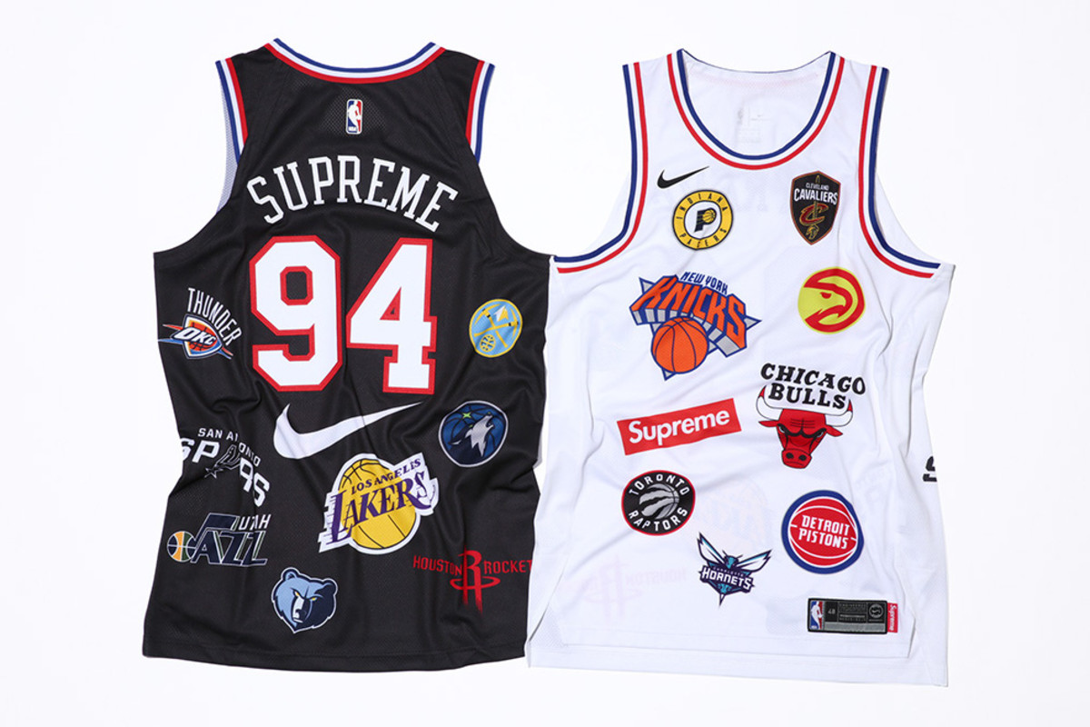 Supreme Joins Forces With Nike on a Logo-Riddled NBA Collection ... 47a5d6c00