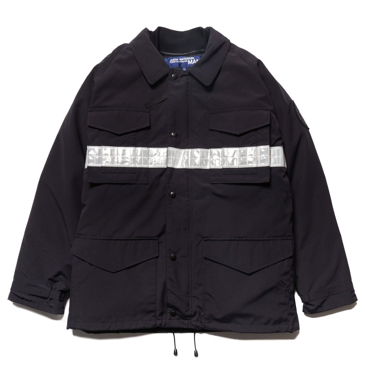 junya-watanabe-man-canada-goose-polyester-cotton-grosgrain-down-jacket-navy