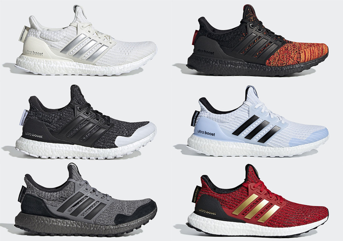 4358ac3c5bd77 Image via  Sneaker News. Image via  Sneaker News. After previewing a pair  from the Game of Thrones x adidas Ultraboost ...
