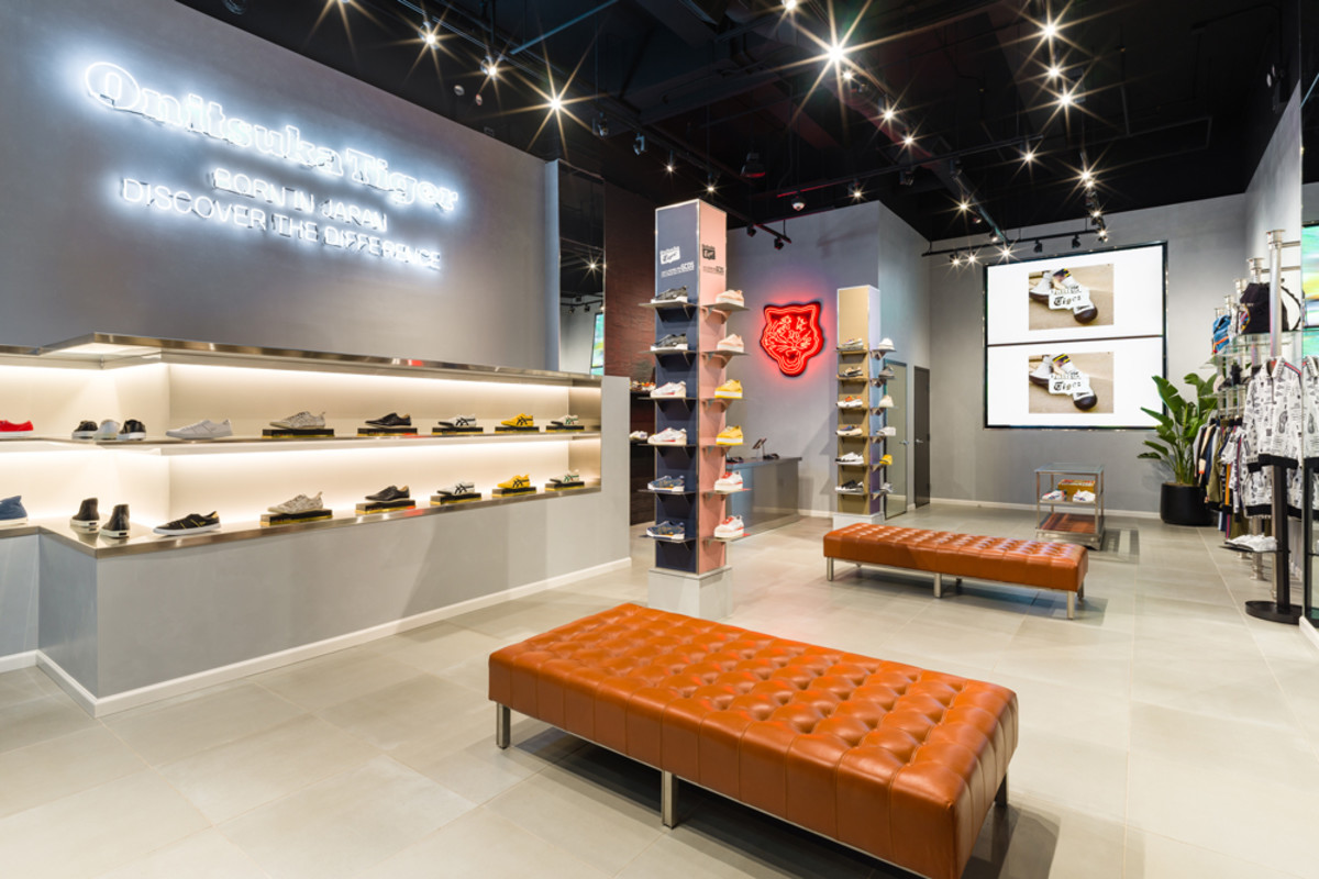 Onitsuka Tiger Opens First U.S. Concept Store in New York
