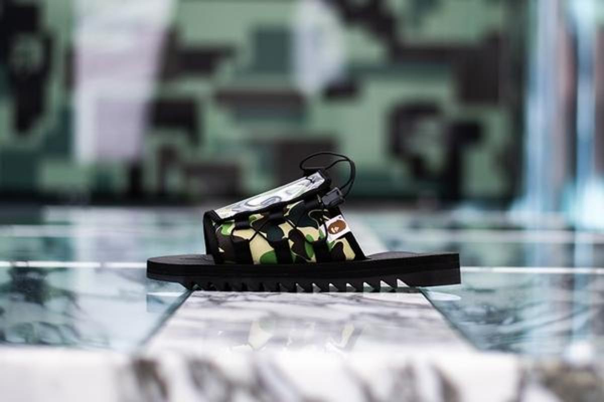 0682dbe55f BAPE x SUICOKE Returns With More Family Sandals - Freshness Mag